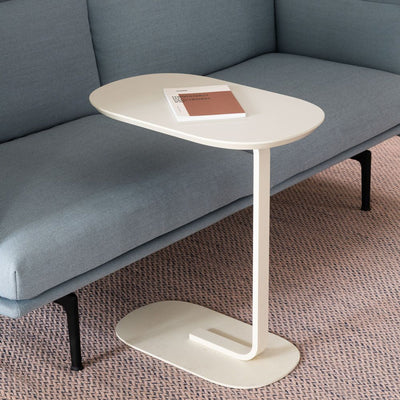 Muuto Relate Side Table , Off White