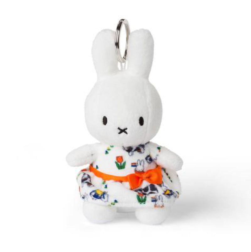 Miffy Corduroy Keychain, Holland dress
