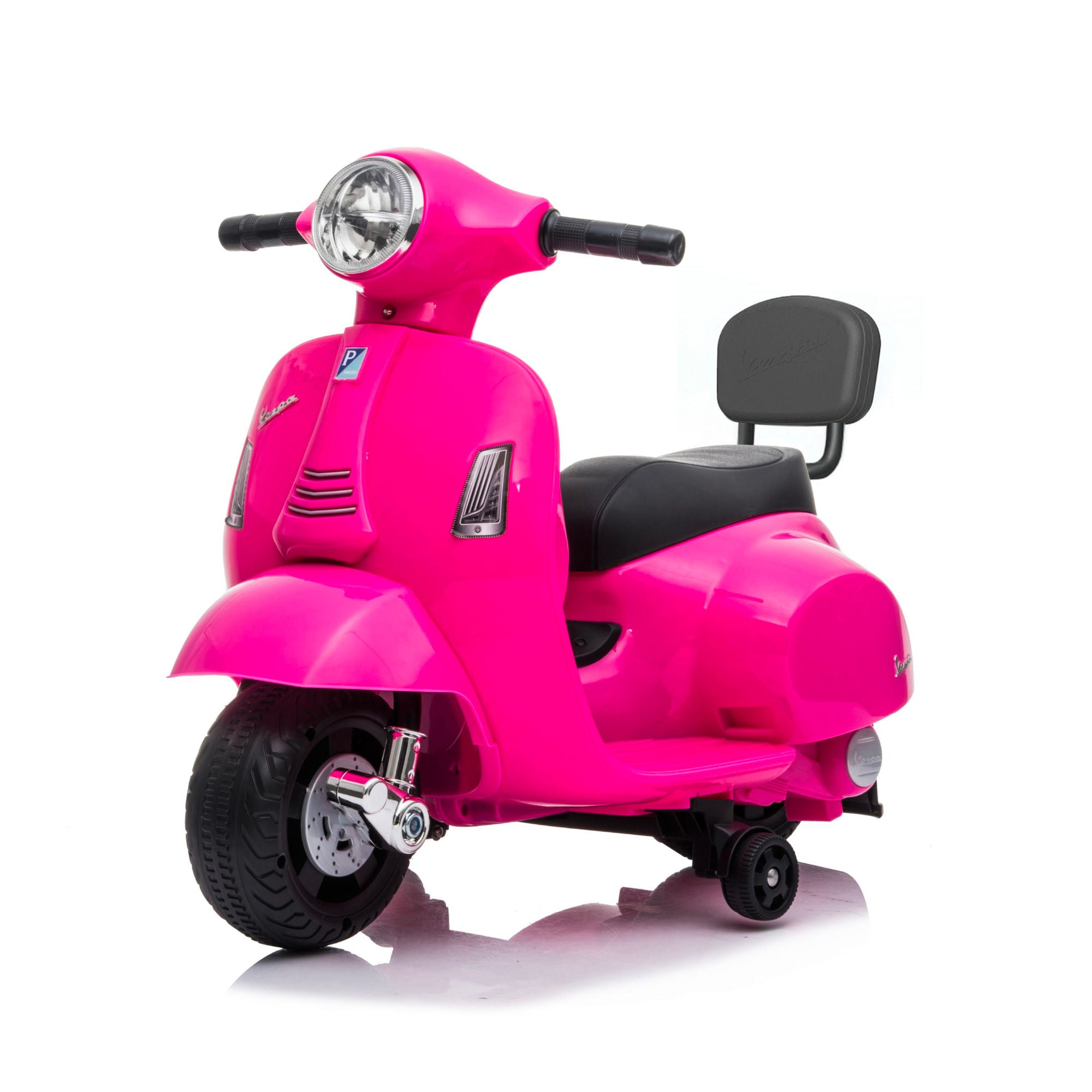 Mini Vespa GTS Scooter 6V Electric Ride On , Hot Pink