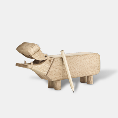 Wooden Hippo