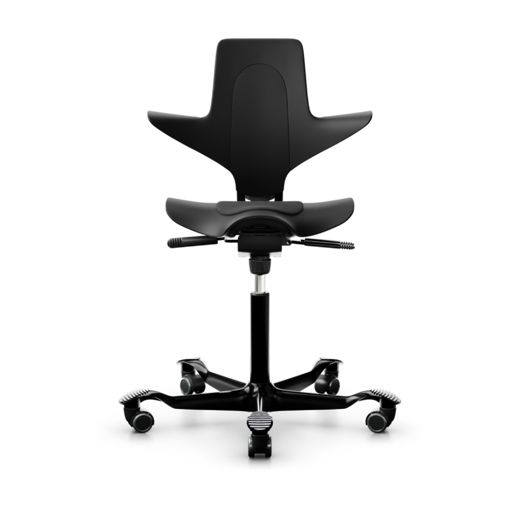 HAG Capisco Puls 8010 ergonomic chair, black