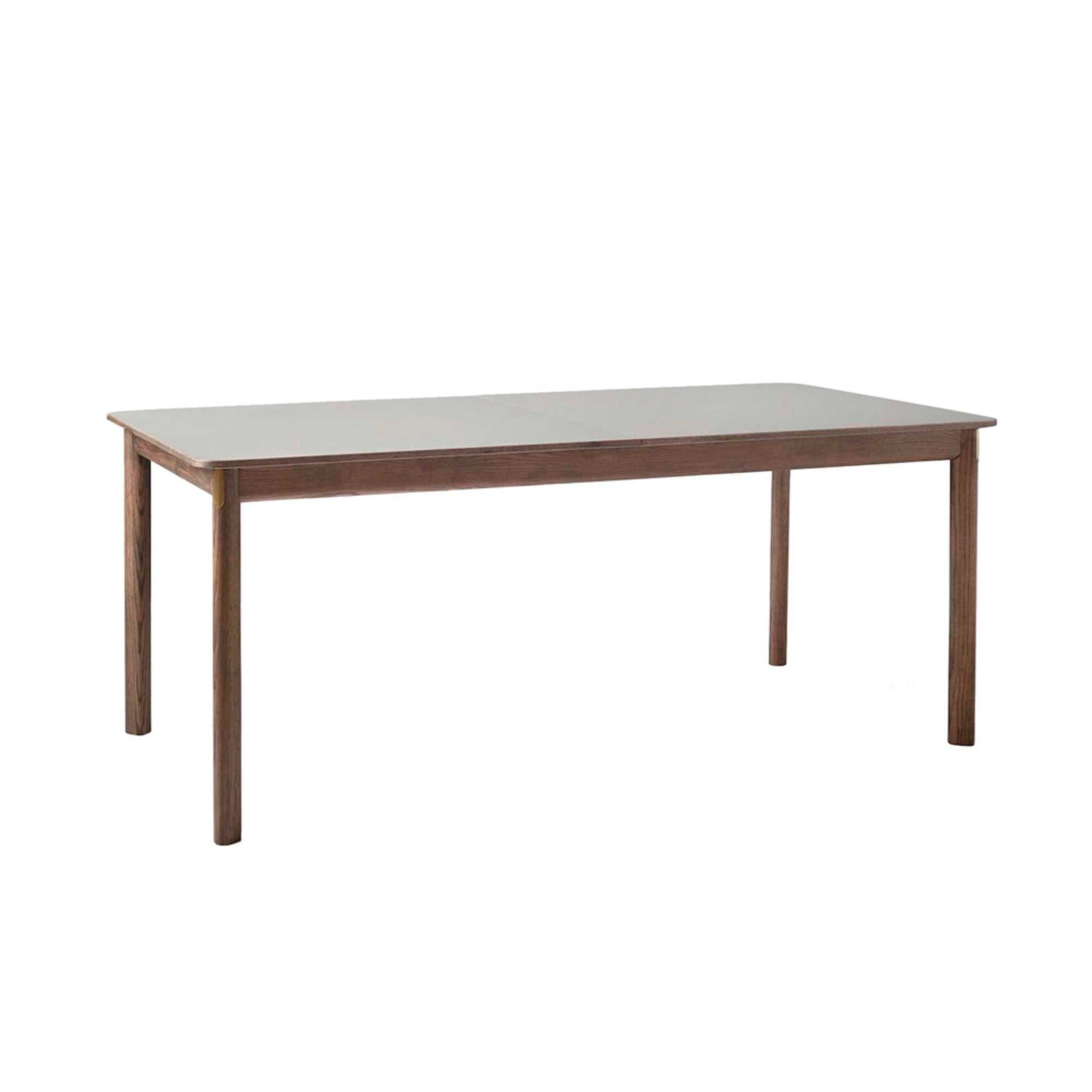 &Tradition Patch HW1 Extendable Table , Smoked Oak