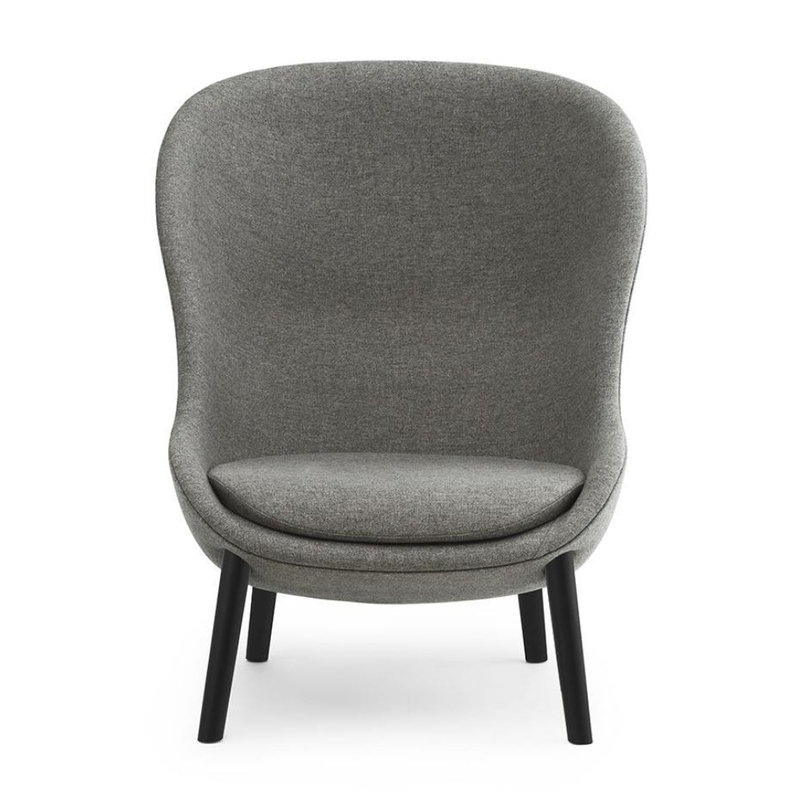 Normann Copenhagen Hyg Lounge Chair High Oak Base