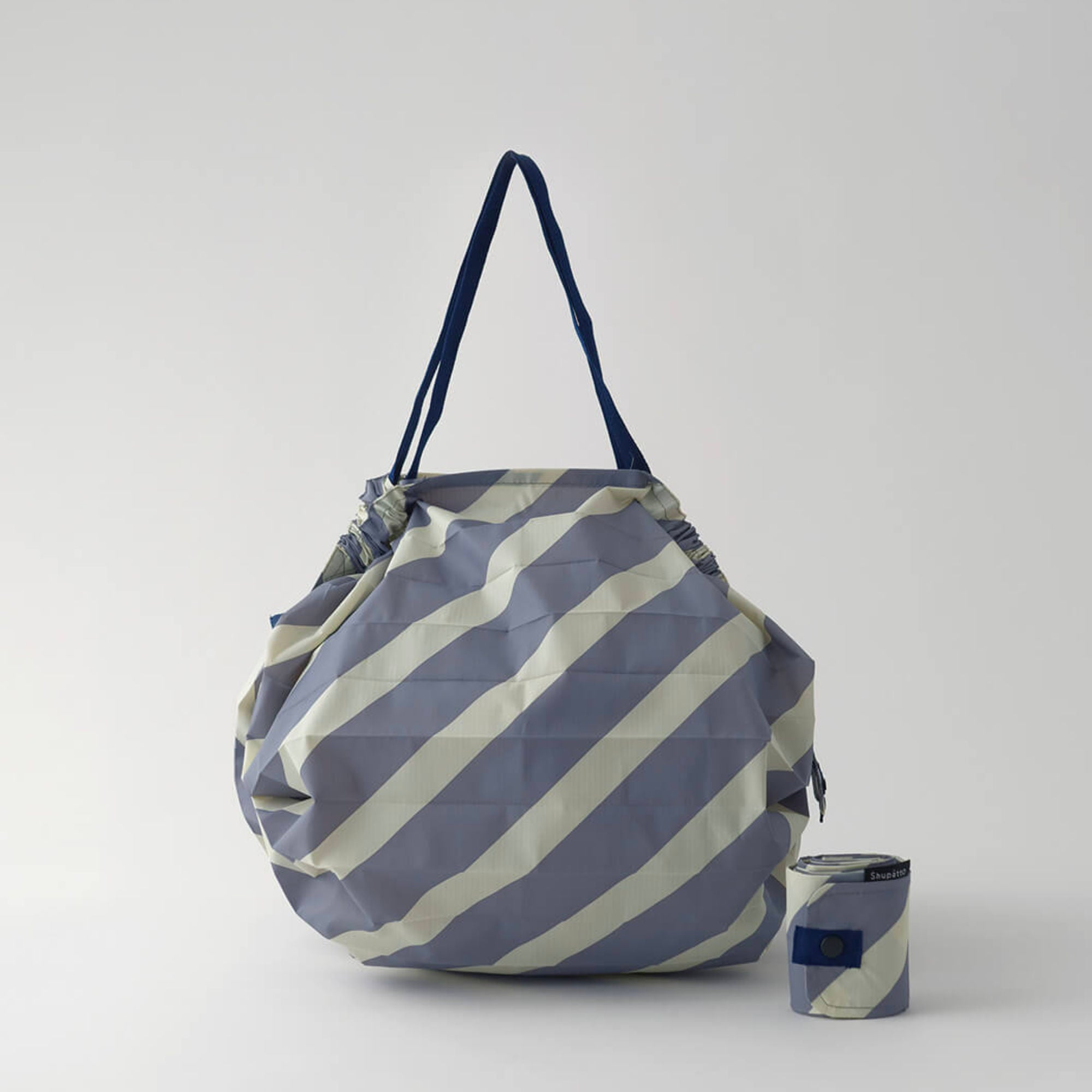 Marna Shupatto Compact Bag M , Diagonal Stripe