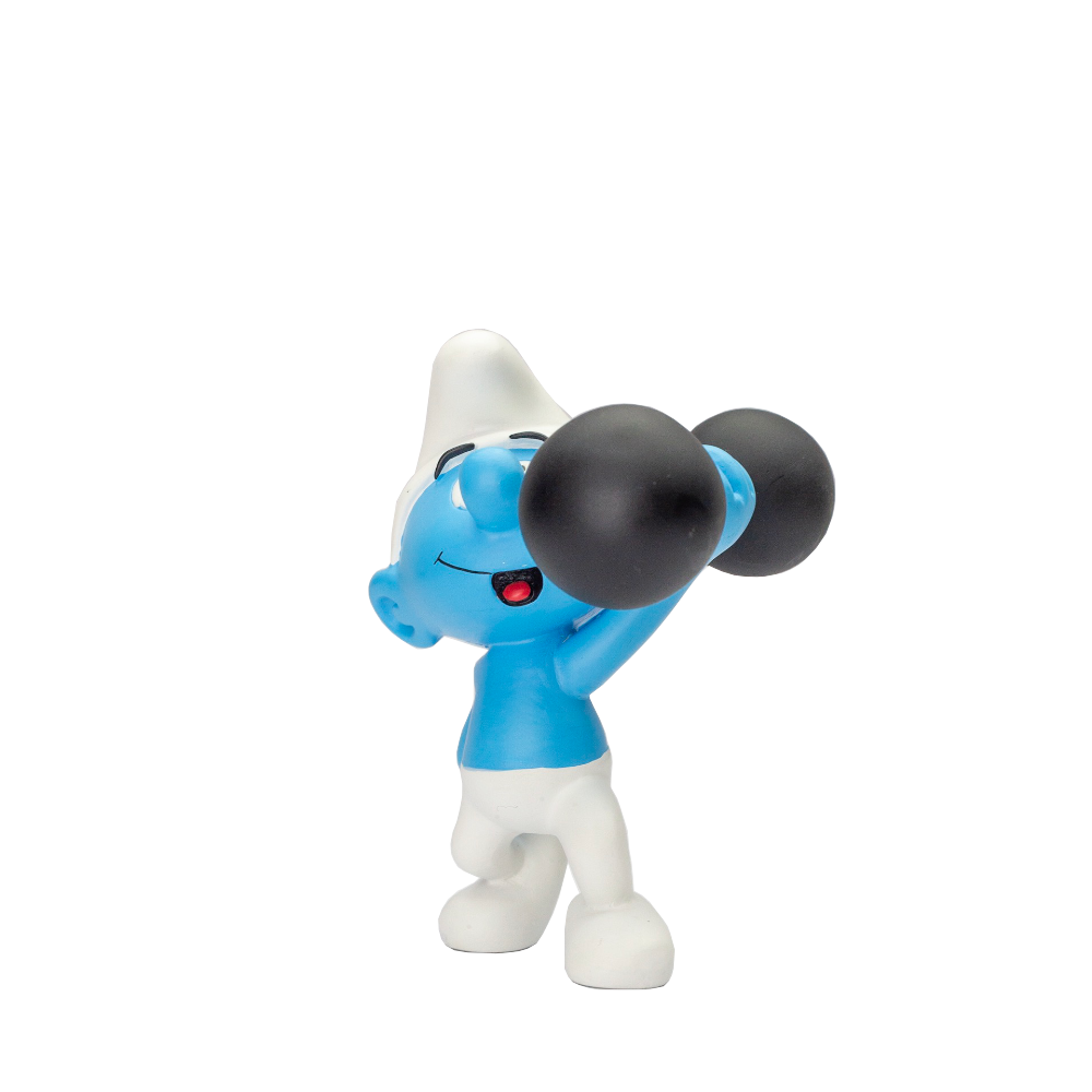 Plastoy Hefty Smurf Lighting Weight h16cm