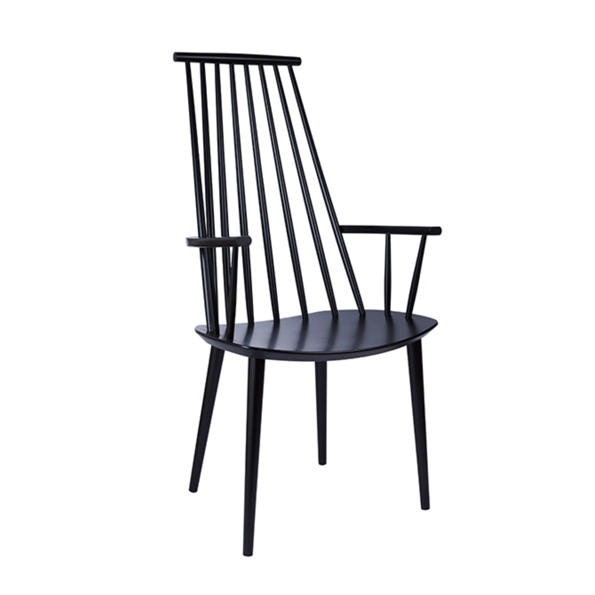 Hay J110 Chair , Black Stained