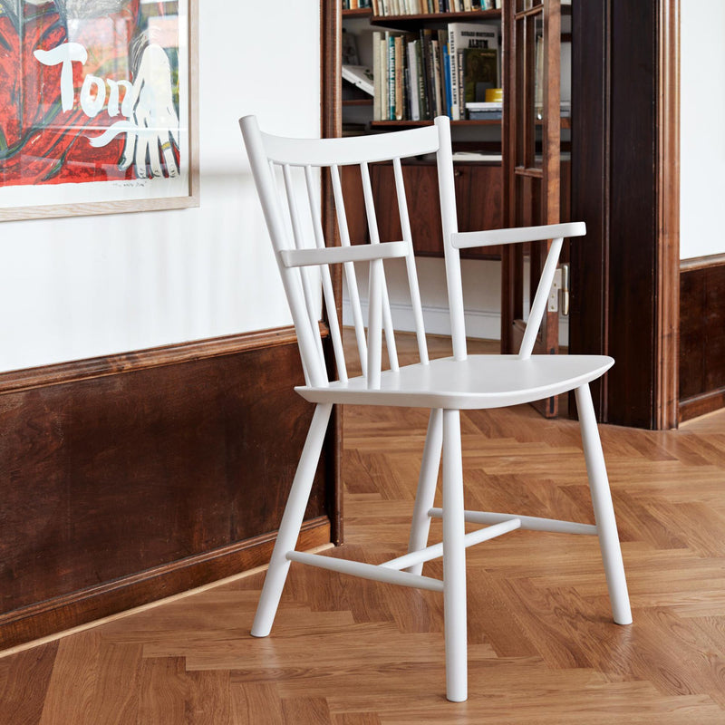 J-Series J42 Armchair , White