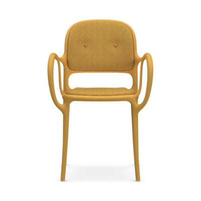 Magis Mila Armchair w. Cushion , Yellow