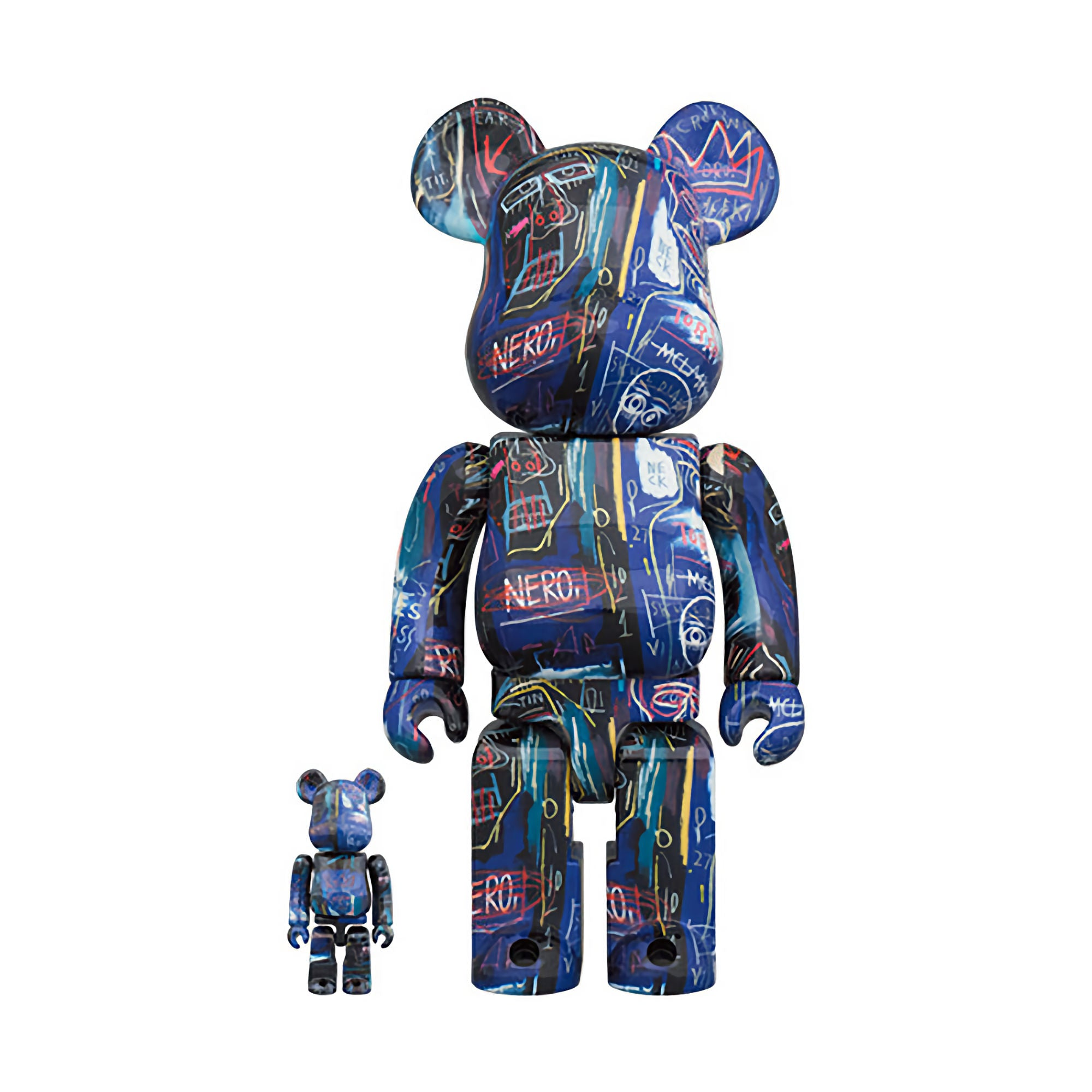 BE@RBRICK Jean Michel Basquiat #7 100% & 400% (To be shipped in late March 2021)