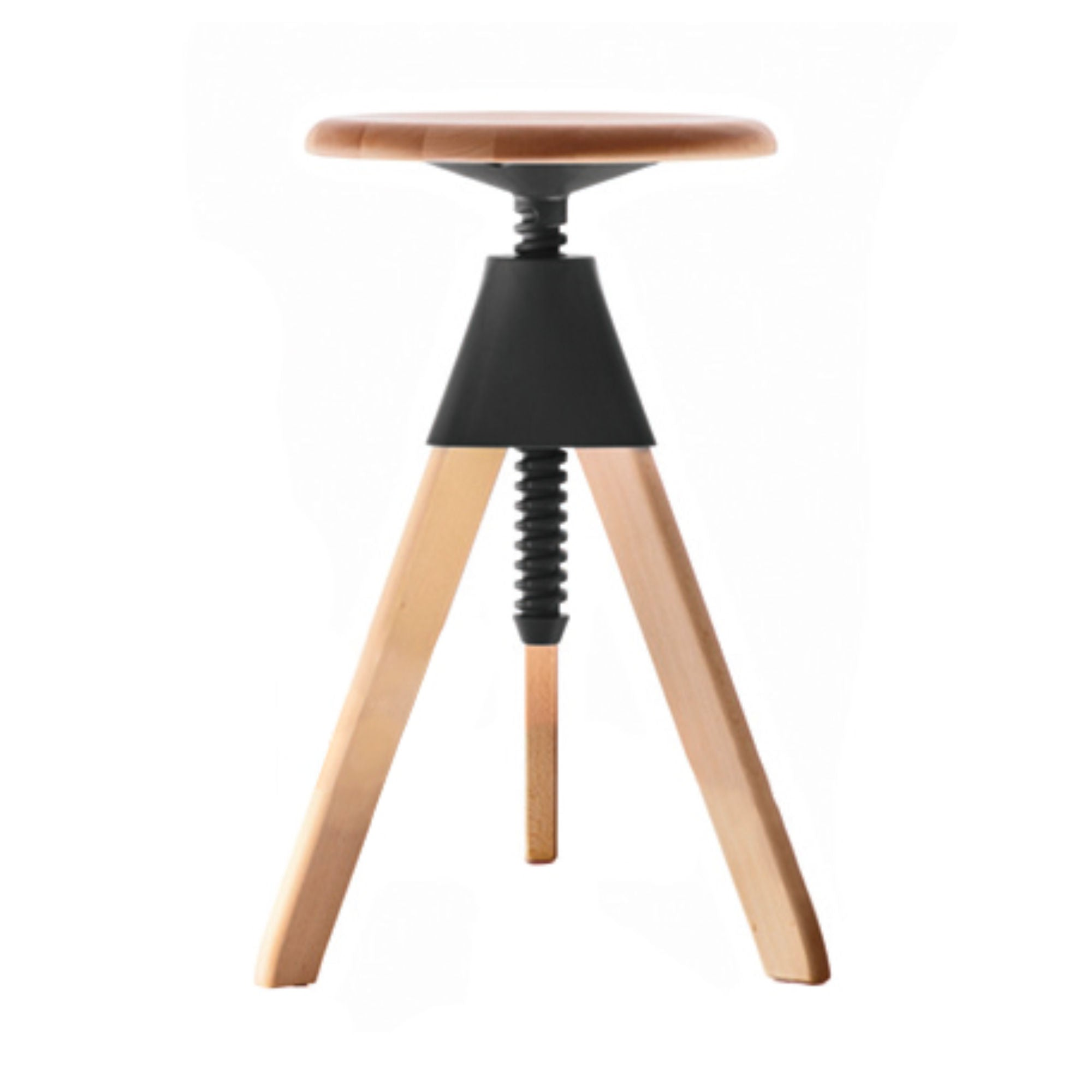 Magis Jerry Stool, Beech-Black-Beech
