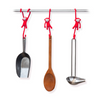 Just-Hanging Kitchen Hooks