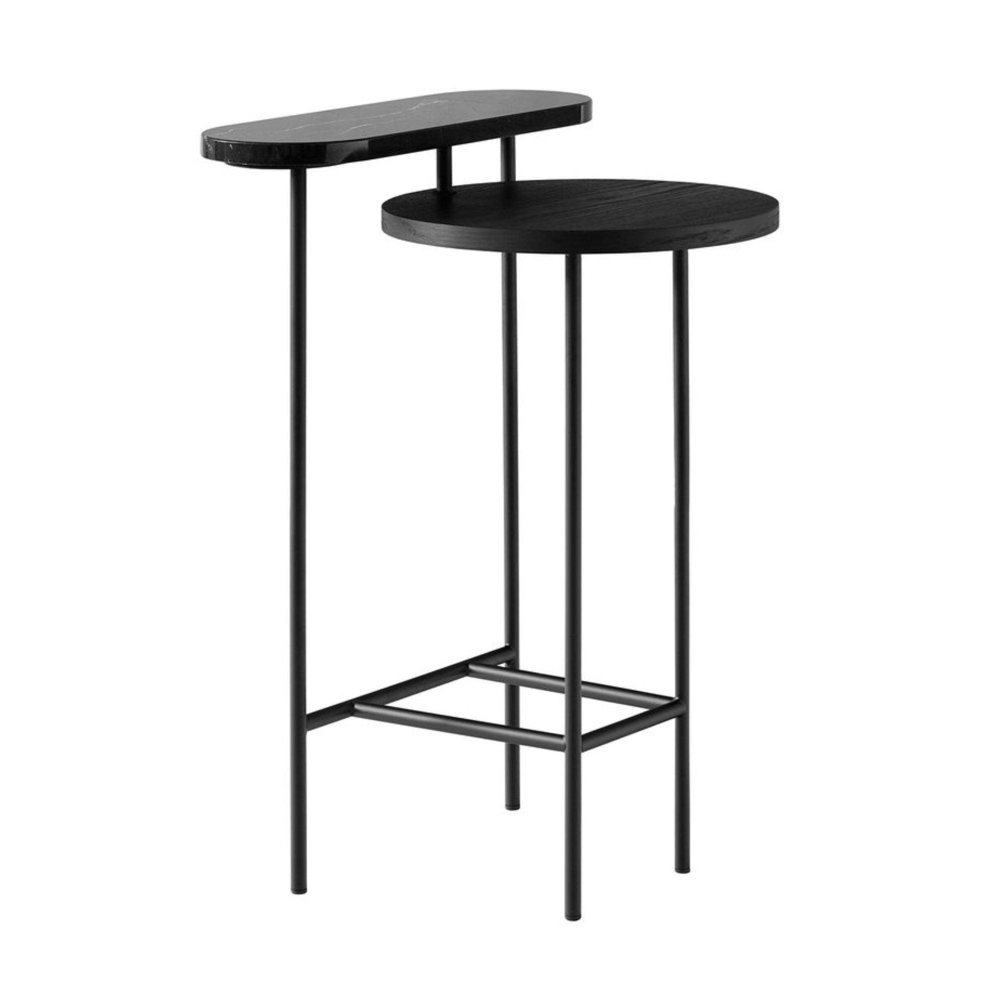 &Tradition JH26 Palette Side Table, black