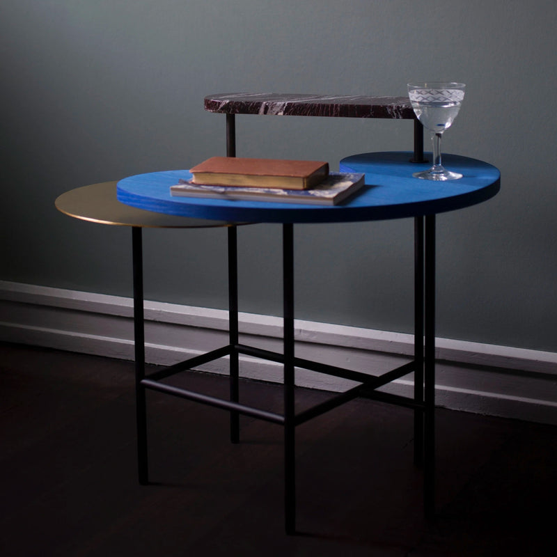 JH8 Palette lounge table, blue