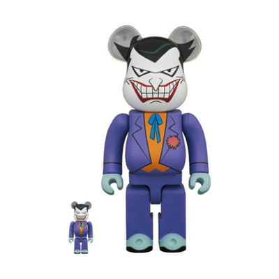 BE@RBRICK Joker Animated 100% & 400%