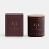 Scented Candle . JUL