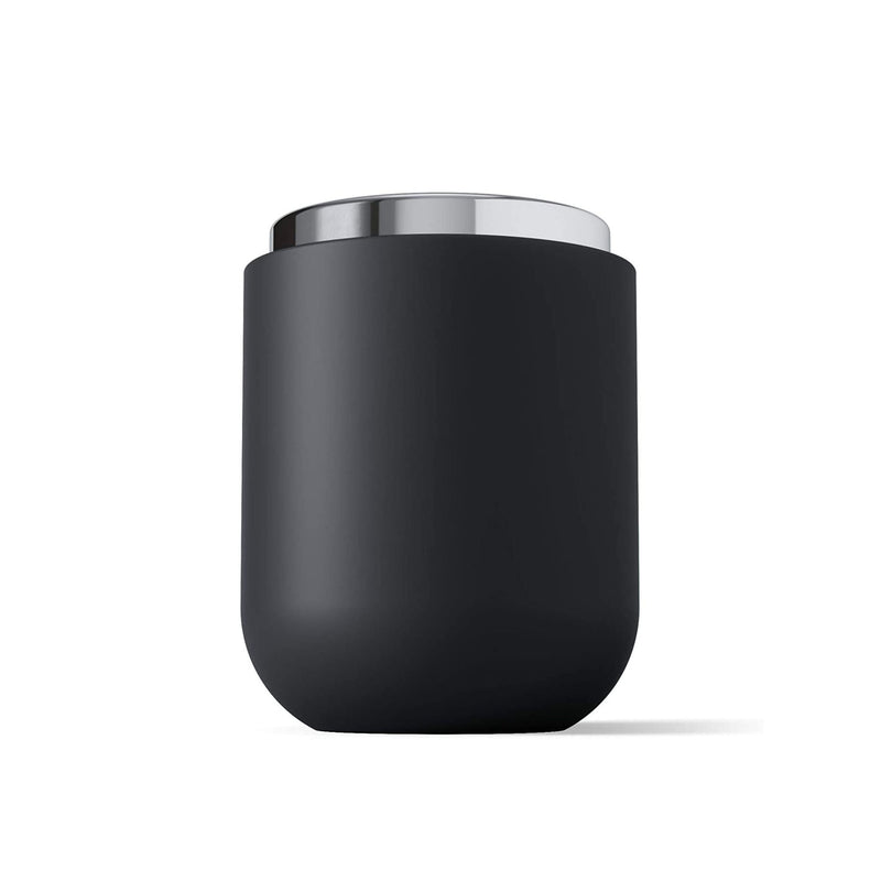 Umbra Junip Canister with lid, chrome - black