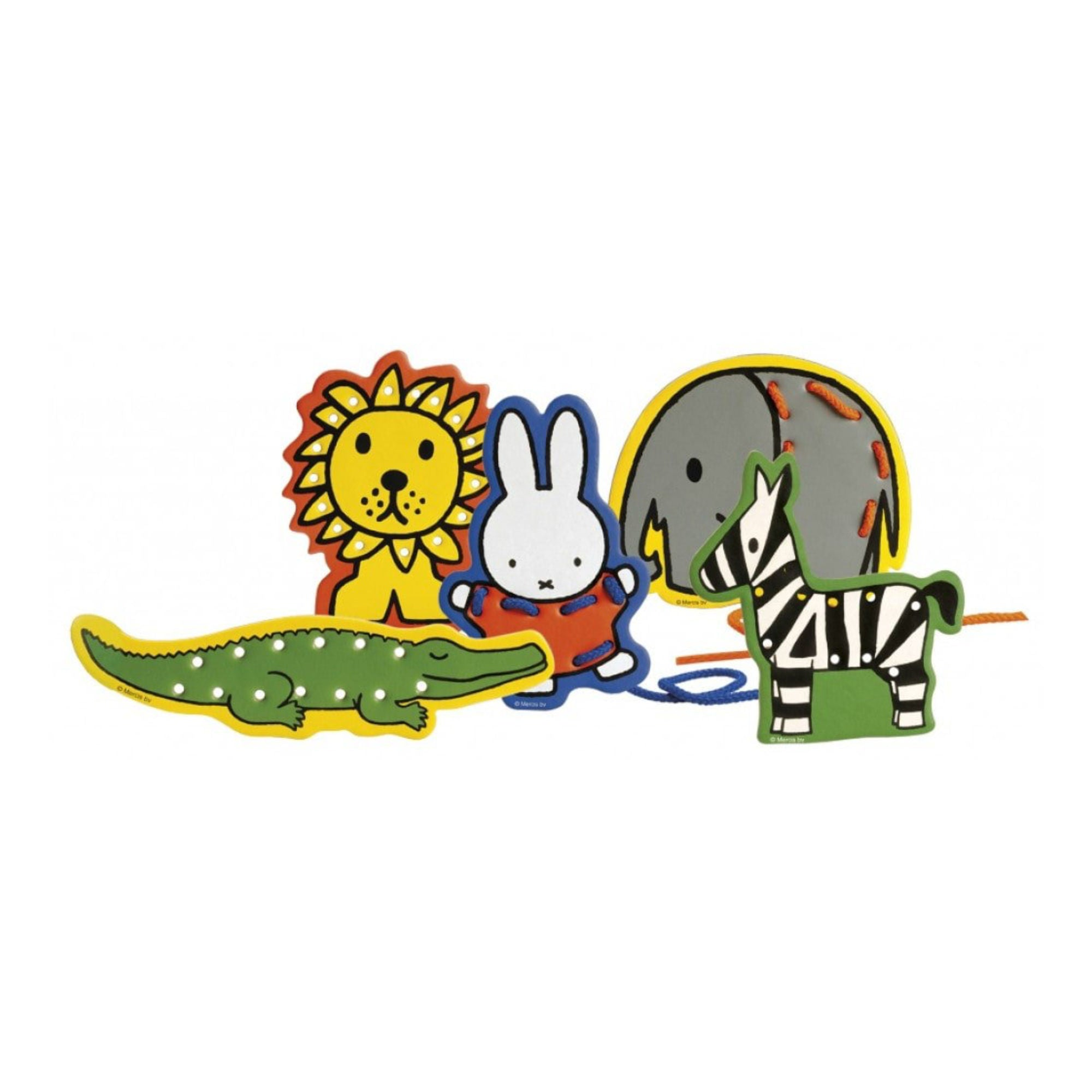 Bambolino Miffy Lacing Cards