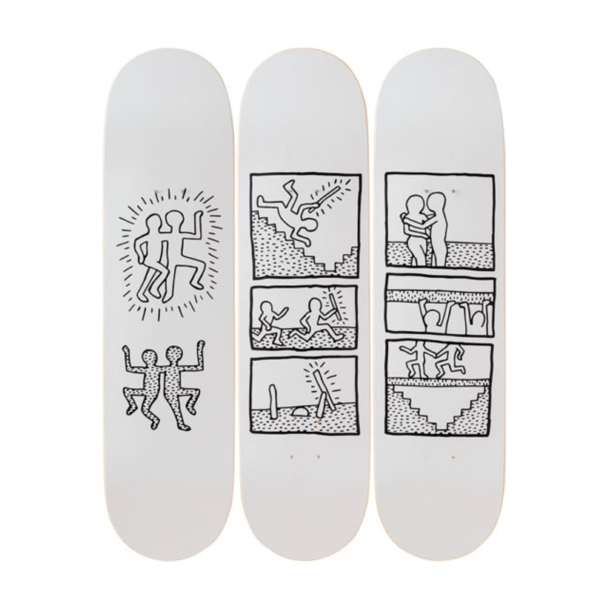 The Skateroom skateboard, Keith Haring Untitled (1981)