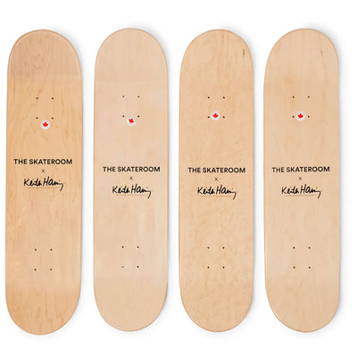 The Skateroom skateboard, Keith Haring Crack is Wack