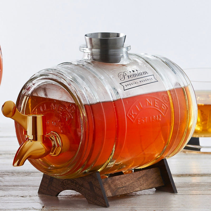 Kilner 1L Barrel with Brass Tap