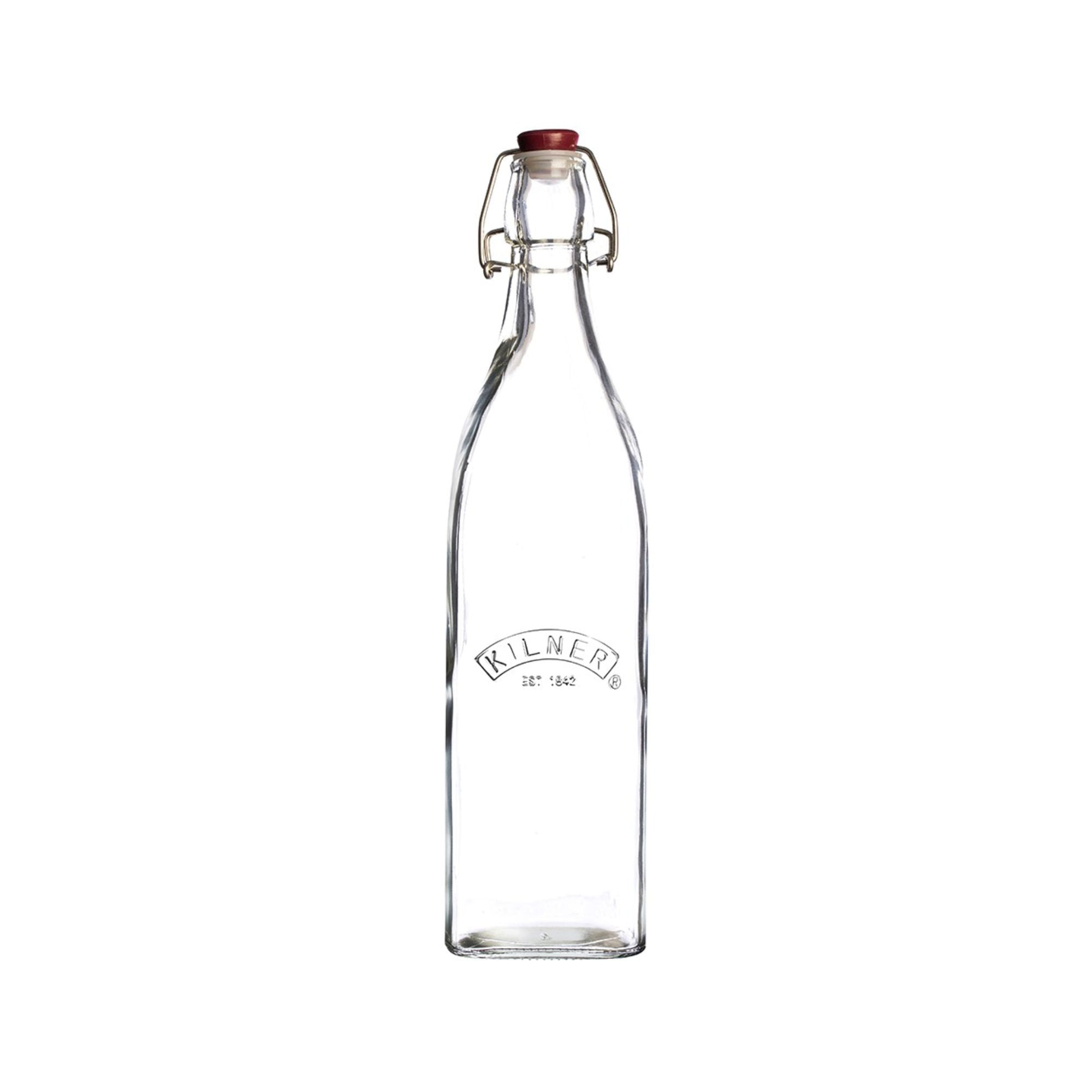 Kilner Cliptop Square Bottle 0,55 L