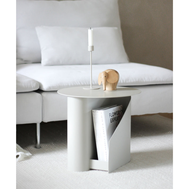 Woud Sentrum Side Table , Warm Grey