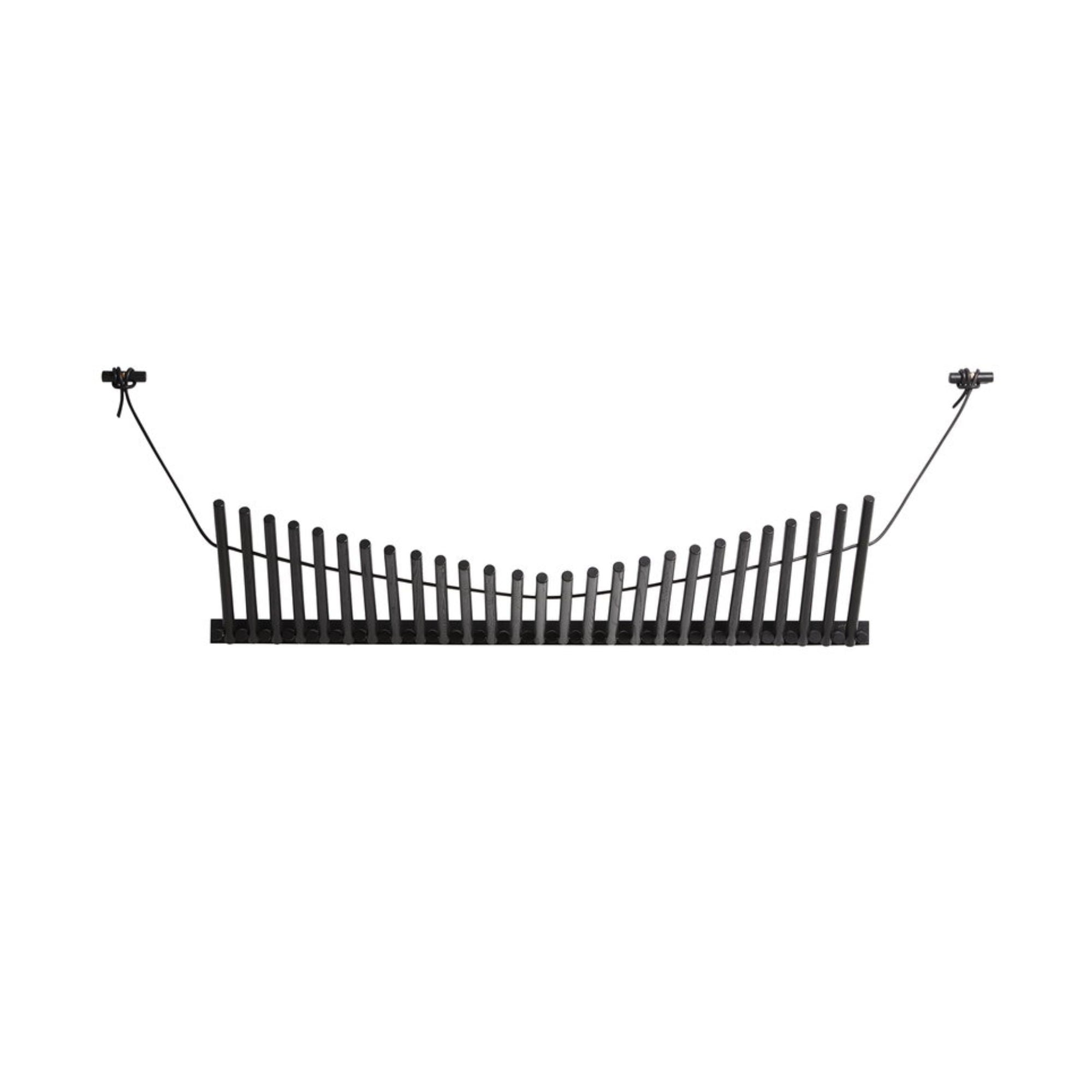 Woud Knaegt Coat Rack , Black