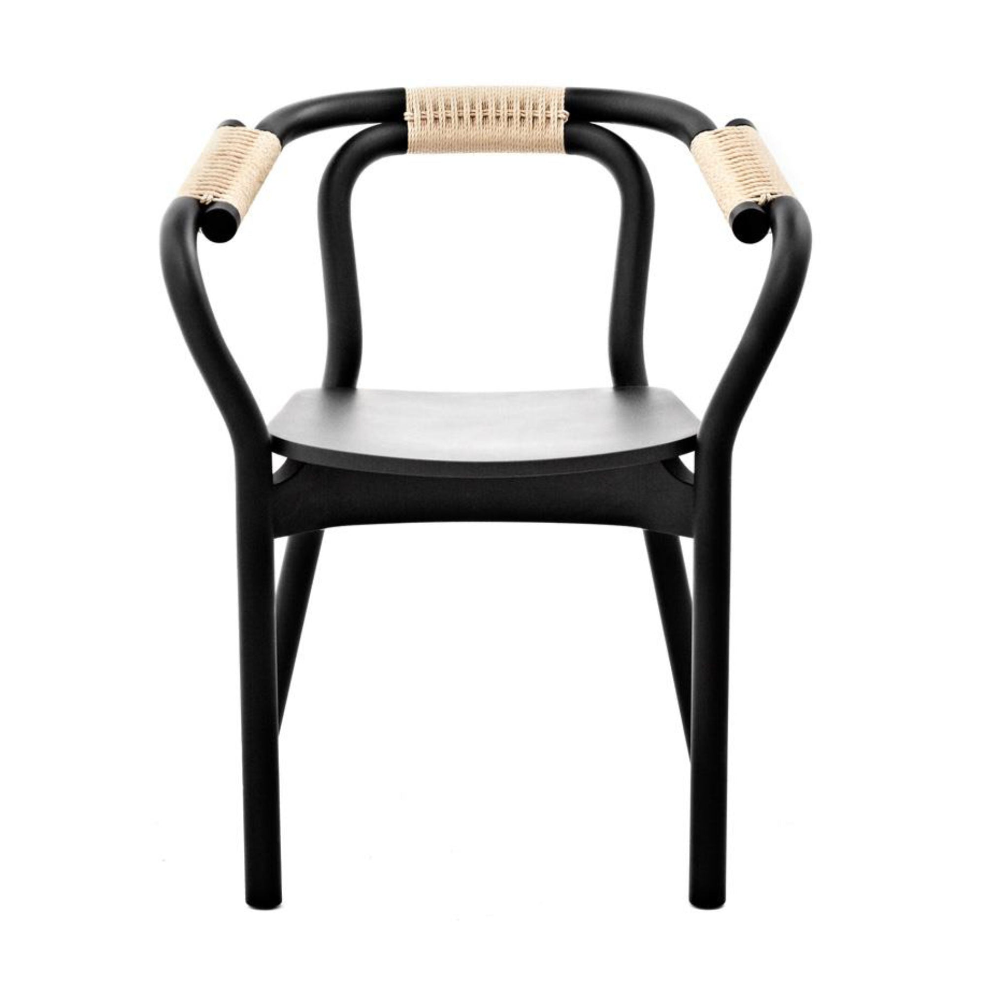 Normann Copenhagen Knot Chair , Black - Nature