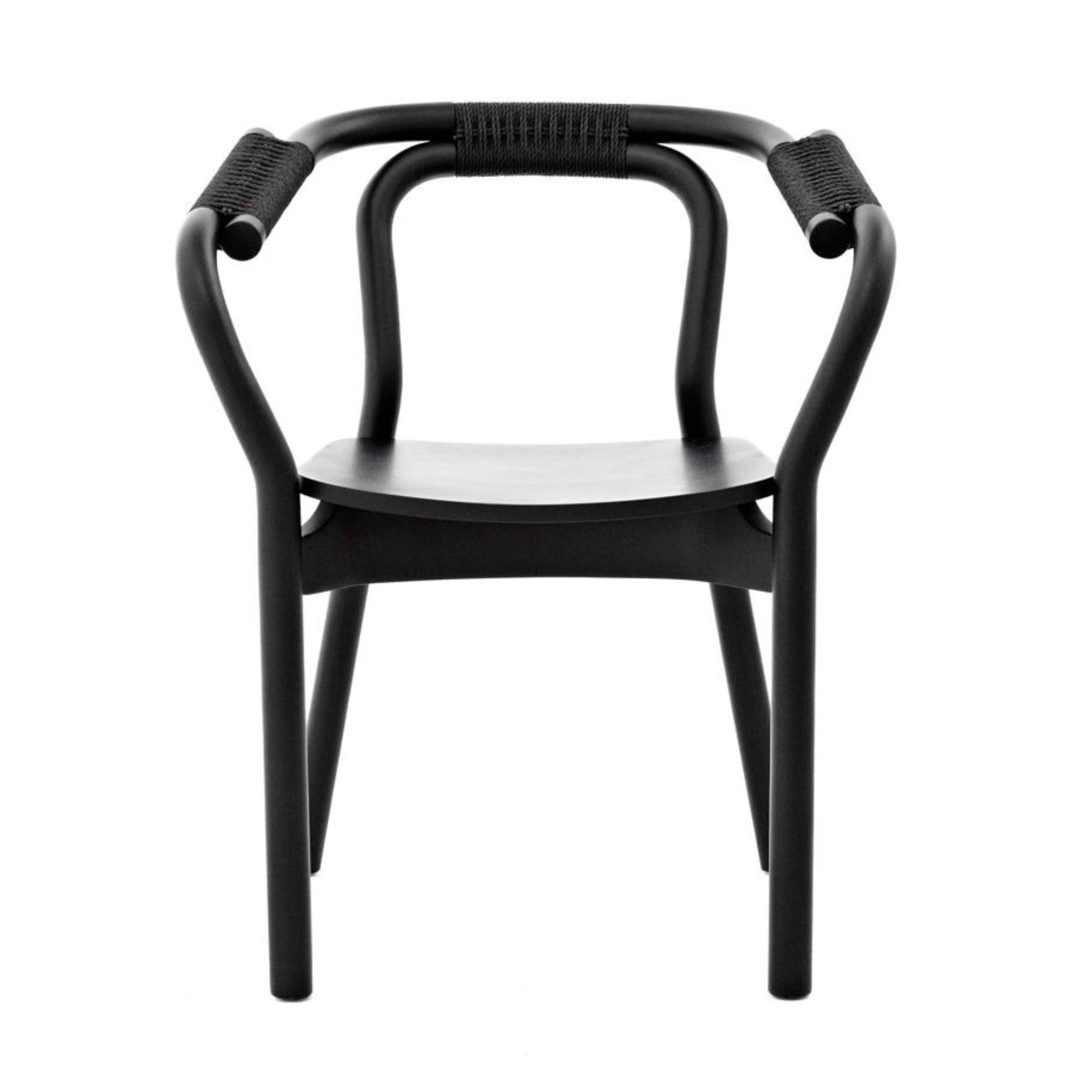 Normann Copenhagen Knot Chair , Black - Black