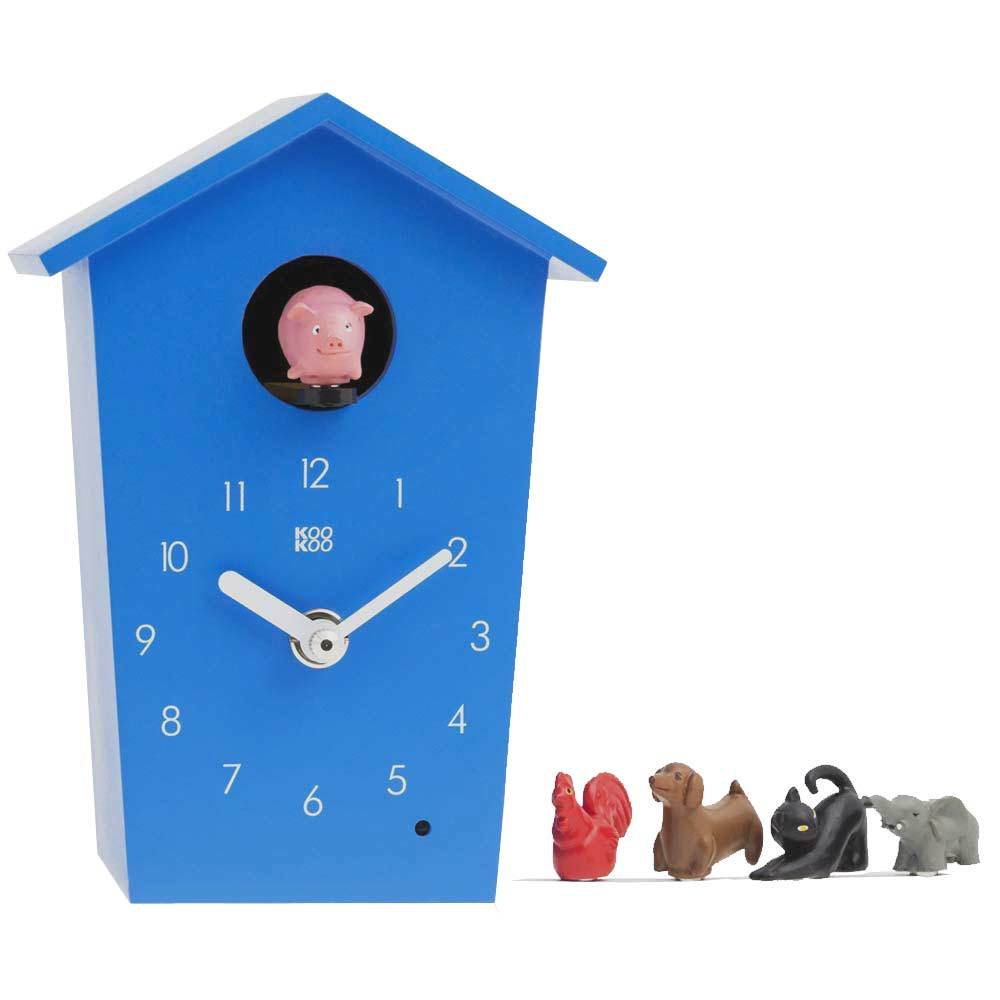 Kookoo Animals House Clock