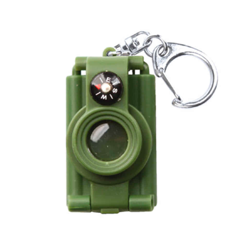 Kikkerland Telescope Compass Key Ring