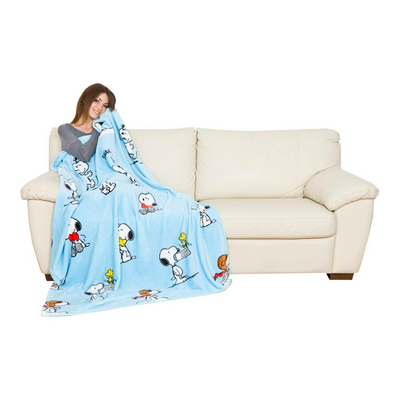 Kanguru Plaid Snoopy Blanket