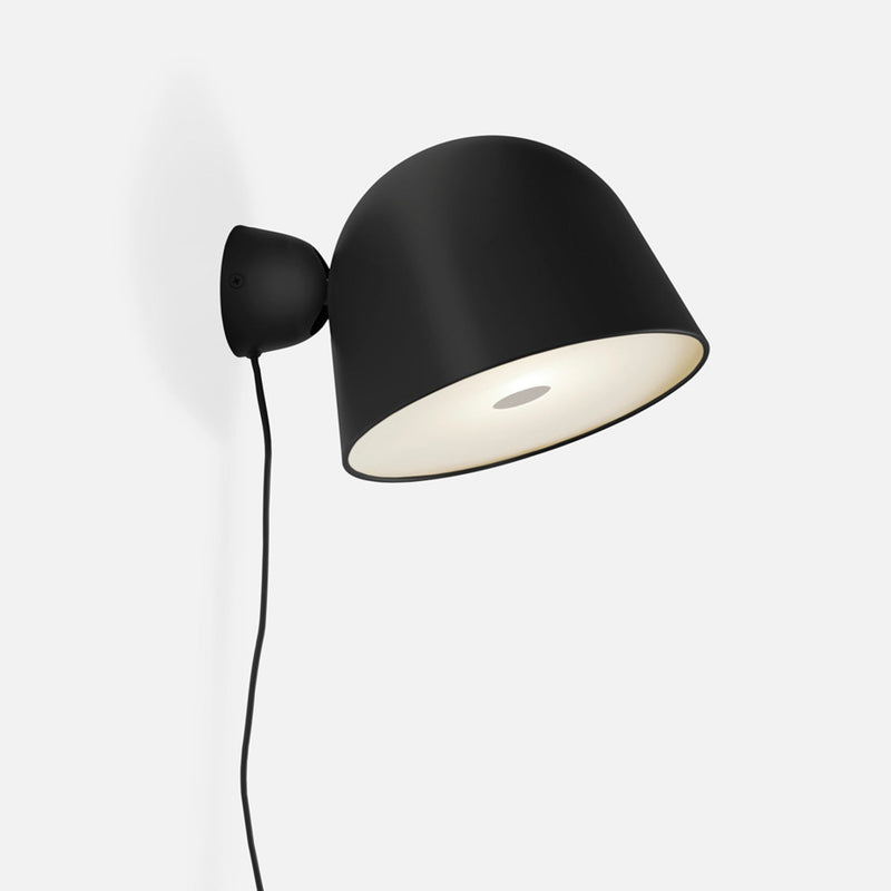 Woud Kuppi Wall Lamp 2.0 , Black