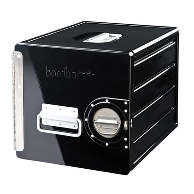 Bordbar Cube Wall Storage Box , Black