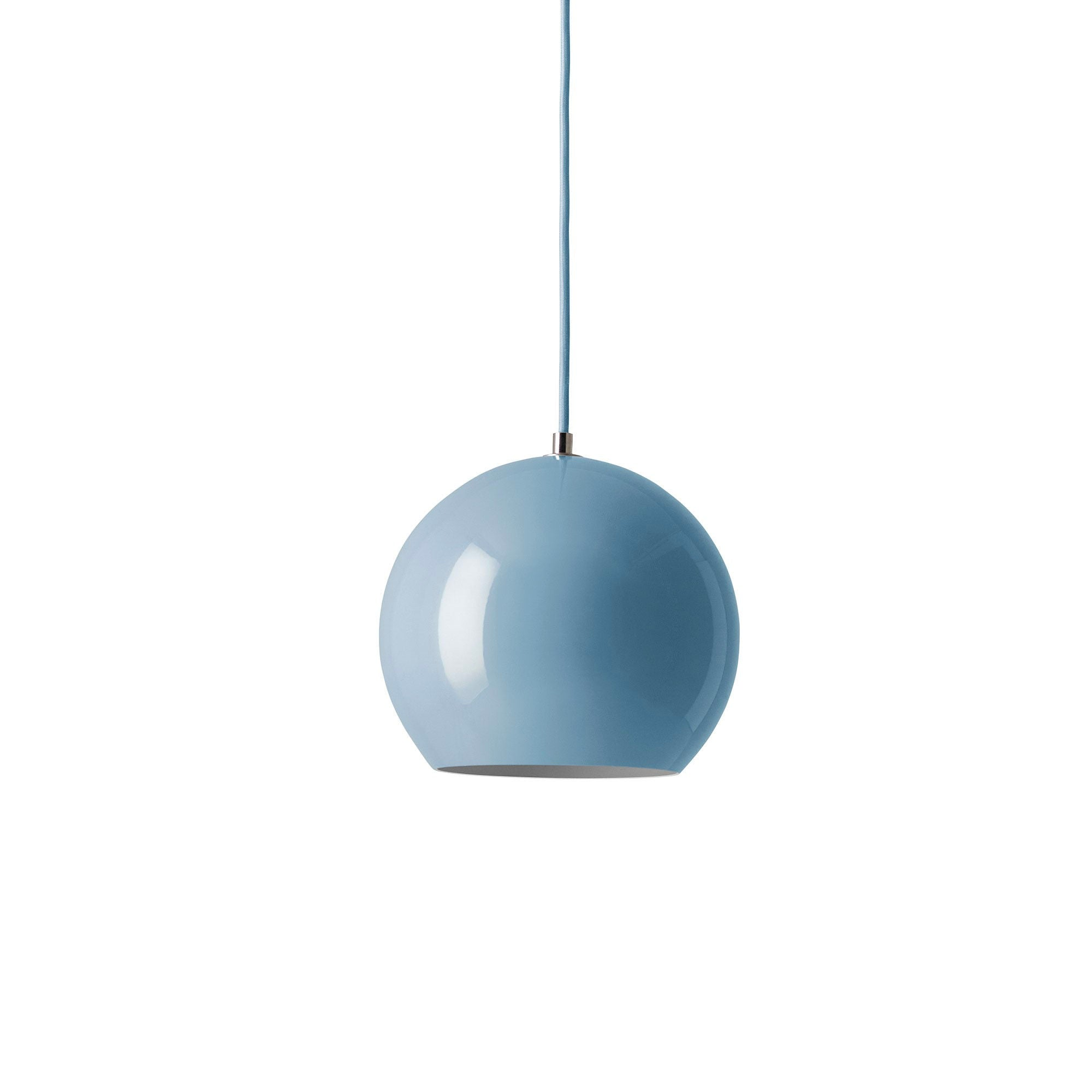 &Tradition VP6 Topan pendant lamp, light blue
