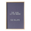 The Philippe Letter Board . 46 x 31