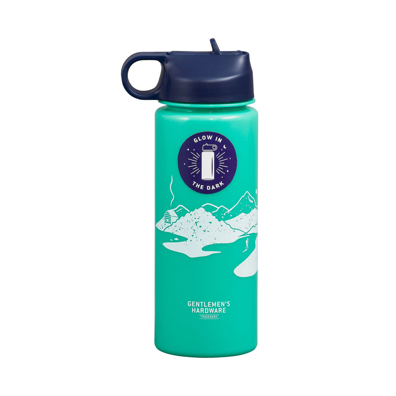 Gentlemen's Hardware Glow In The Dark Water Bottle