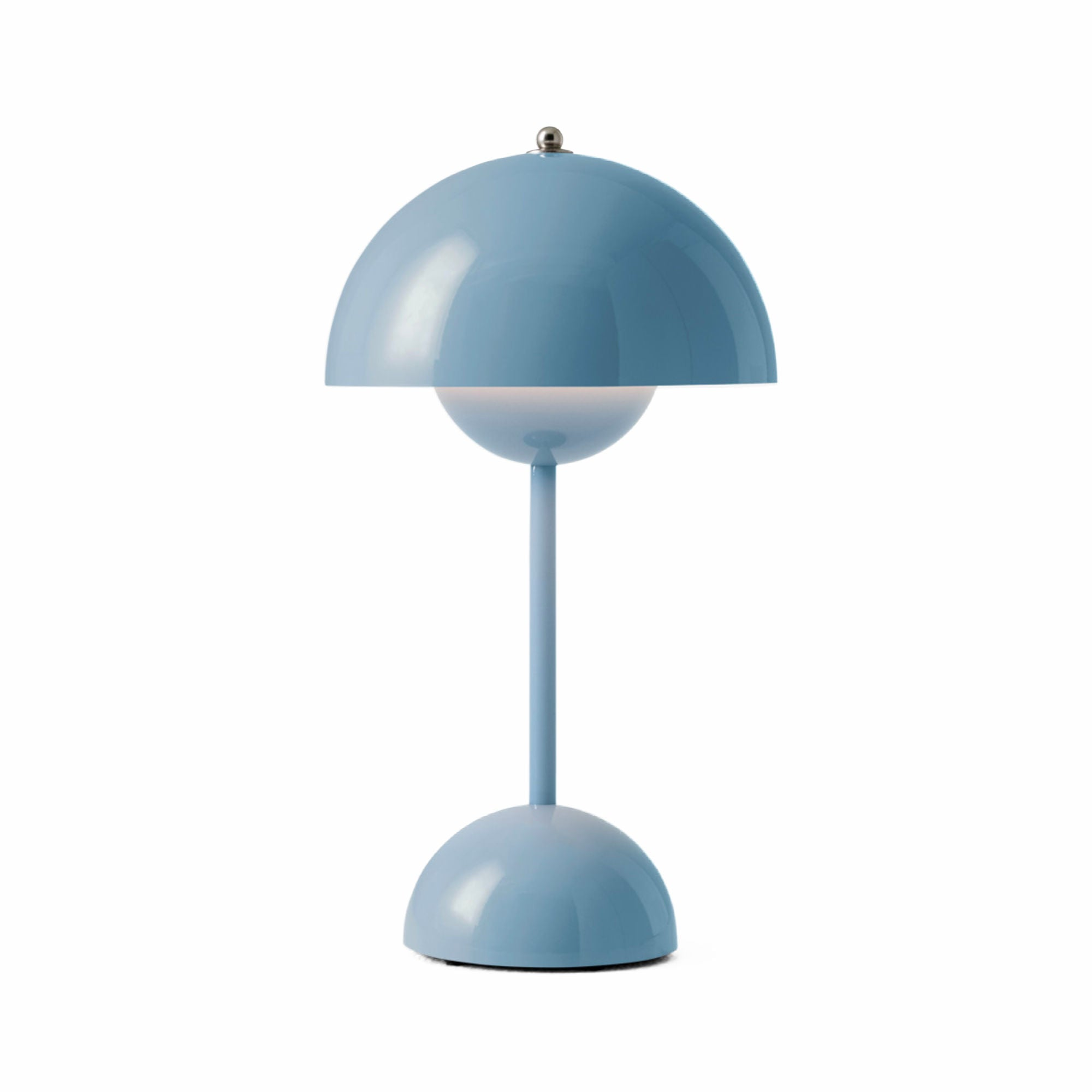 &Tradition VP9 Flowerpot Rechargeable Lamp , Light Blue