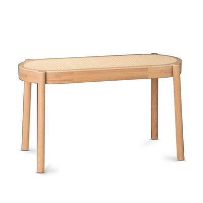 Northern Pal Bench , Lighted Oiled Oak