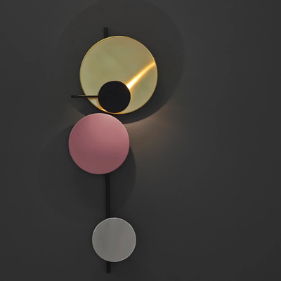 Please Wait to be Seated Planet Wall Lamp