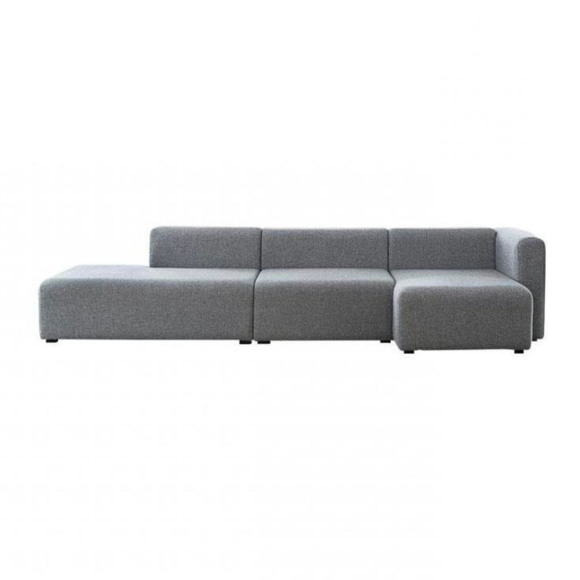 Hay Mags 3 seater chaise longue sofa, hallingdal 130