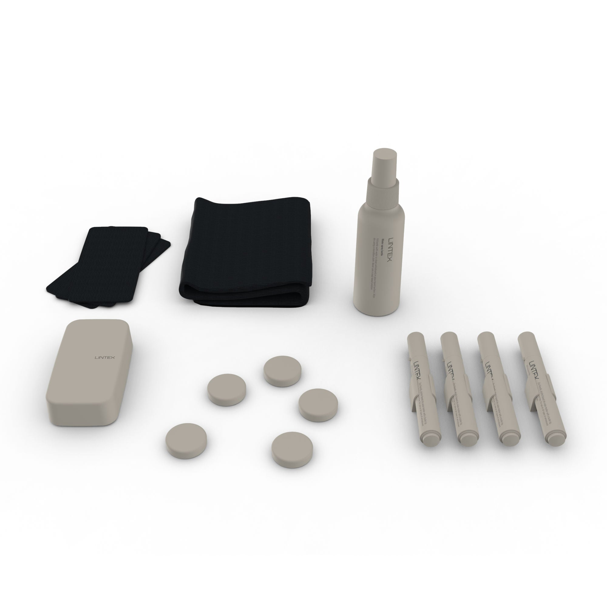 Lintex Writing Board Accessory Kit , Grey