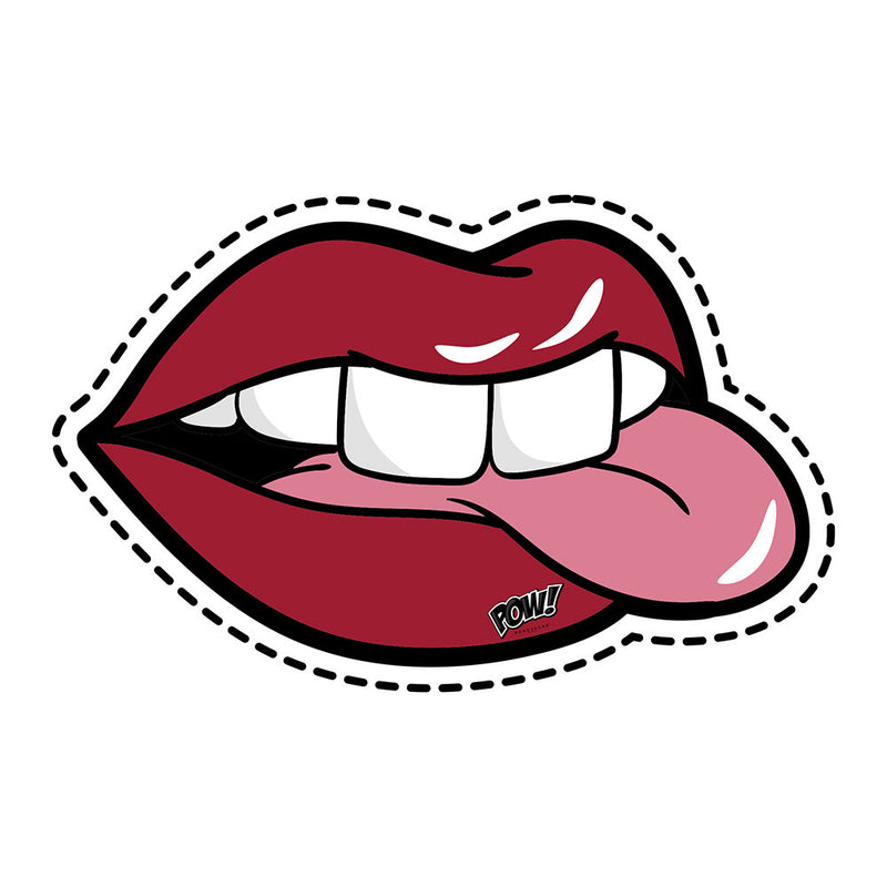 Podevache Vinyl Floor Mat Lips & Tongue 64x99cm