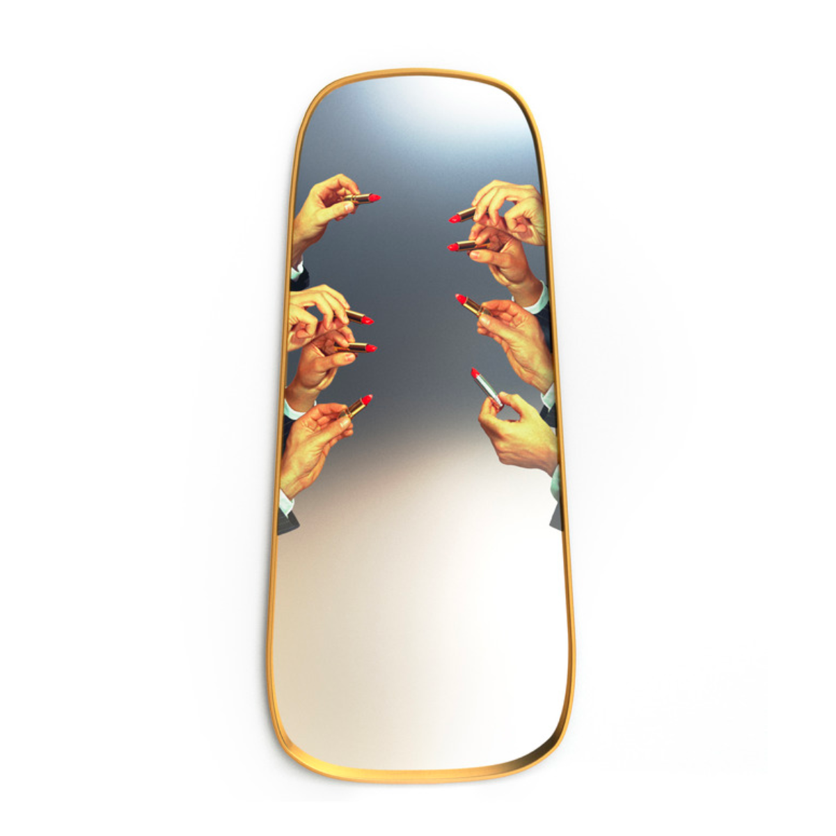 Seletti Toiletpaper wall mirror large