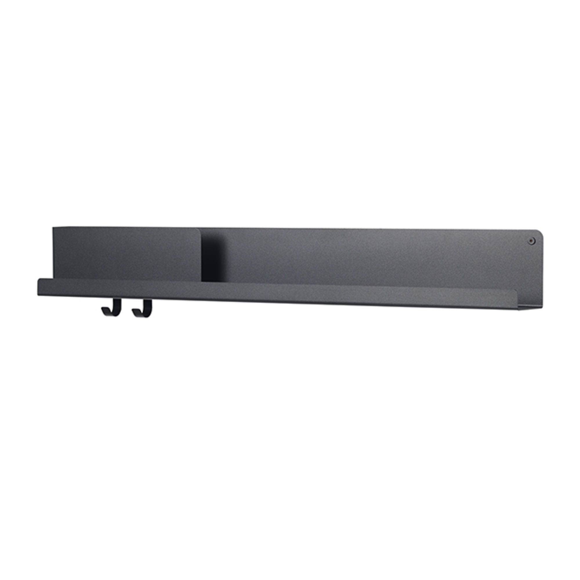 Muuto Folded Shelves 96x13cm , Black