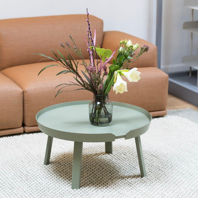 Muuto Around Coffee Table Large Ø72 , Dusty Green
