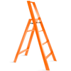 Metaphys Lucano step ladder, 4 steps, orange
