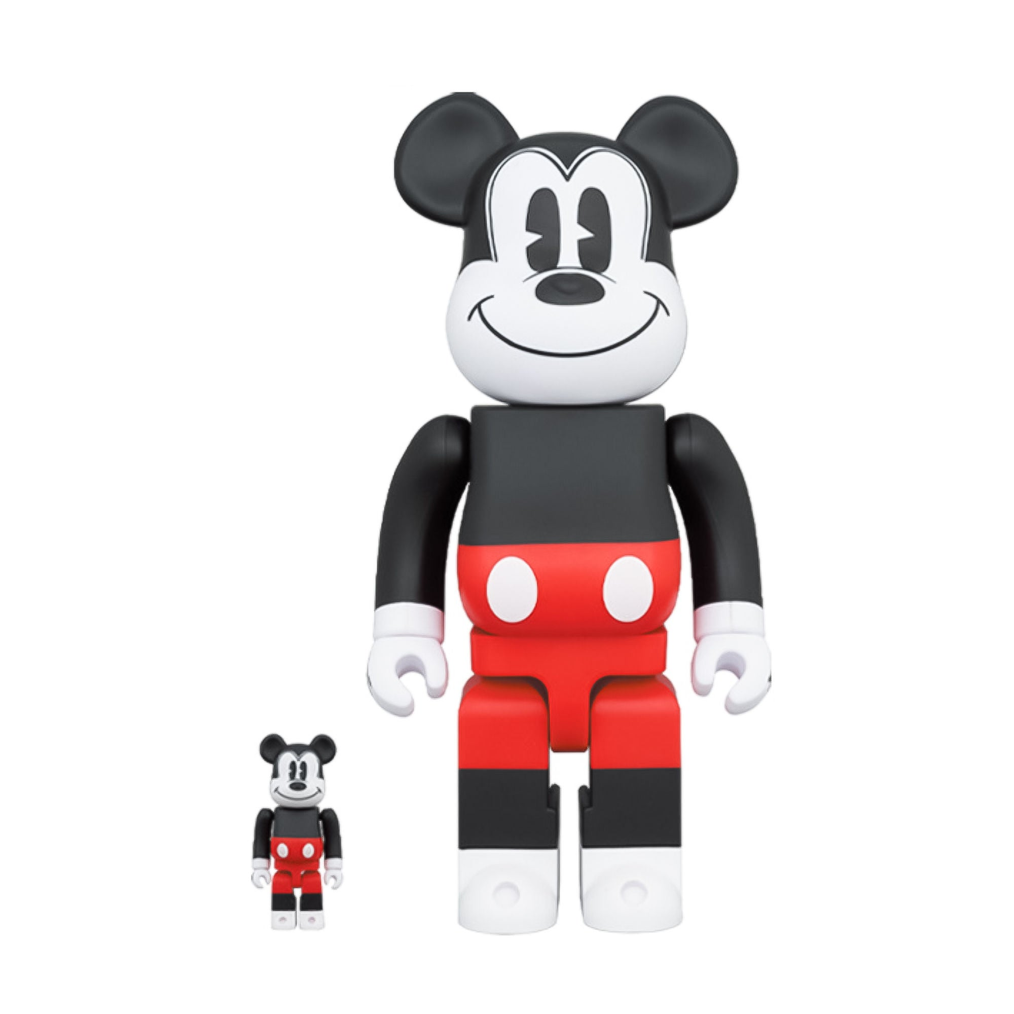 BE@RBRICK Mickey Mouse 100% & 400%