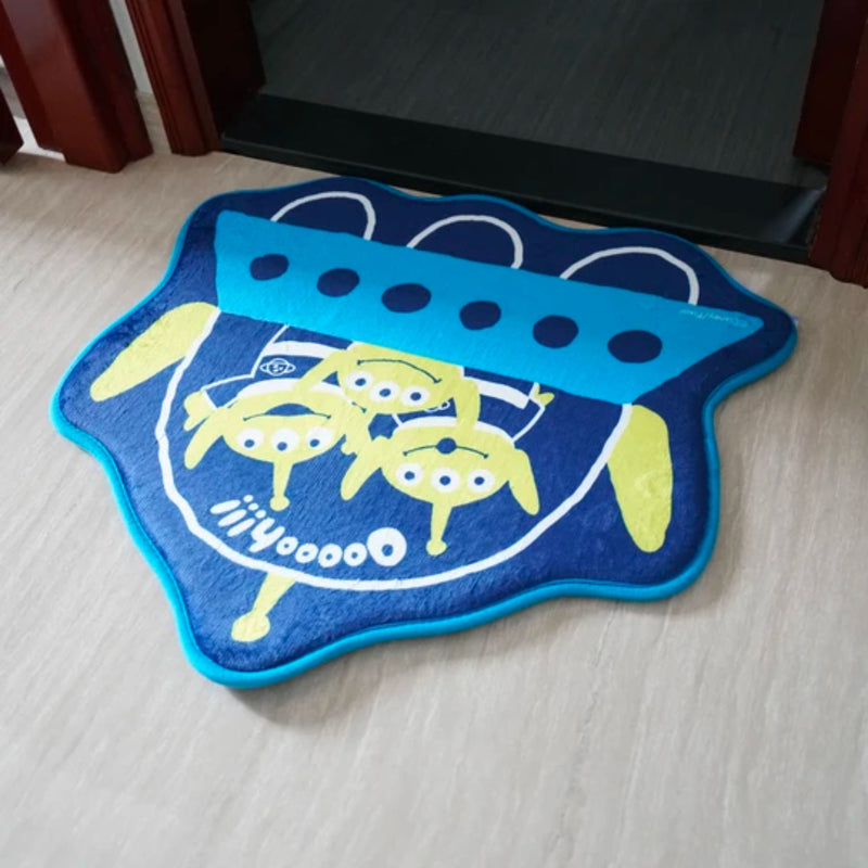 Toy Story 25th Anniversary Aliens UFO Floor Mat
