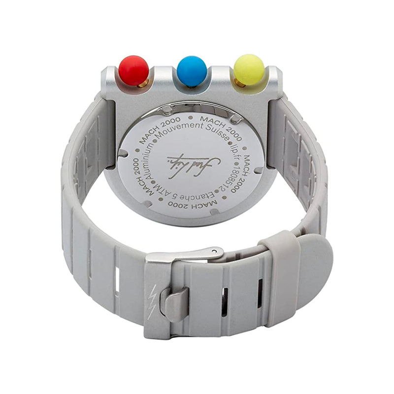 Lip Watch MACH2000 Light Master Chronograph , Silver